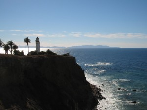 Point Vicente and Catalina Island, CA