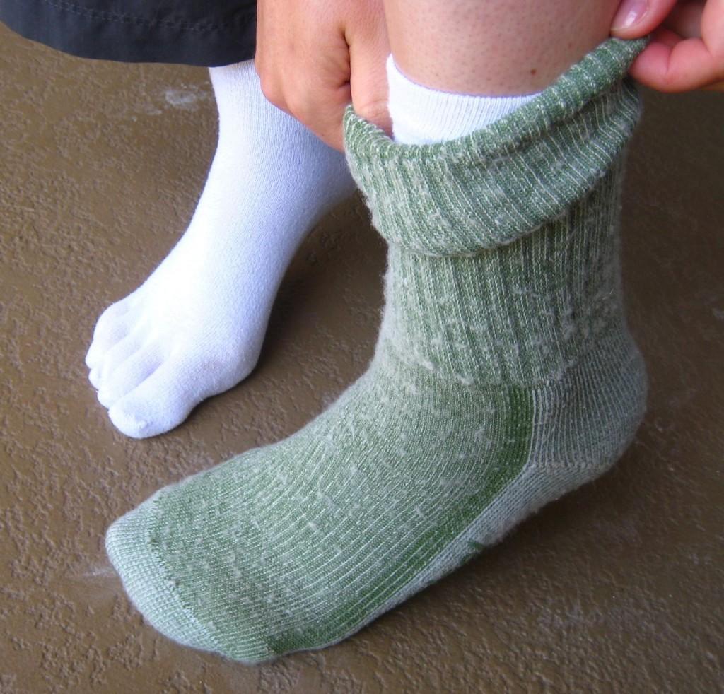 Hiking Socks and Sock Liners