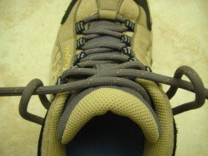 Step 2: Thread the Laces Through the Loops