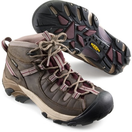 Women's Merrell^ Siren Sport 2 Waterproof Hiking Shoes, Black / Damson