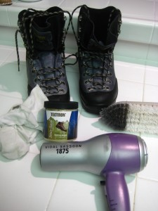 What you need to waterproof your boots