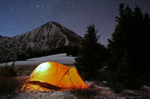 Primitive Camping!
