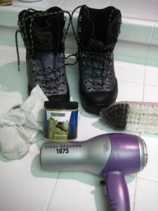 Hiking Boot Waterproofing