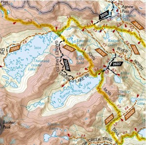 Garnet Lake National Geographic Topo