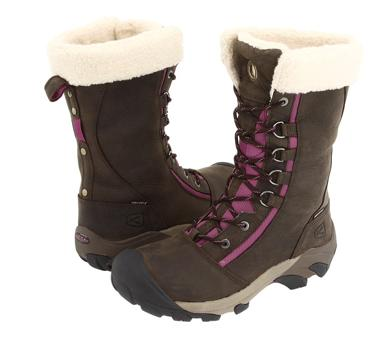 keen has a pair of women s winter boots that