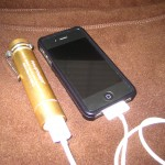 Using the RAVPower to charge an iPhone