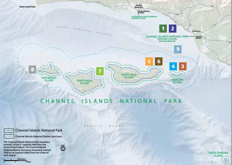 Channel Islands, National Park Service