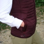 Close-up of the Eddie Bauer Stormdown 700 Downtek Vest
