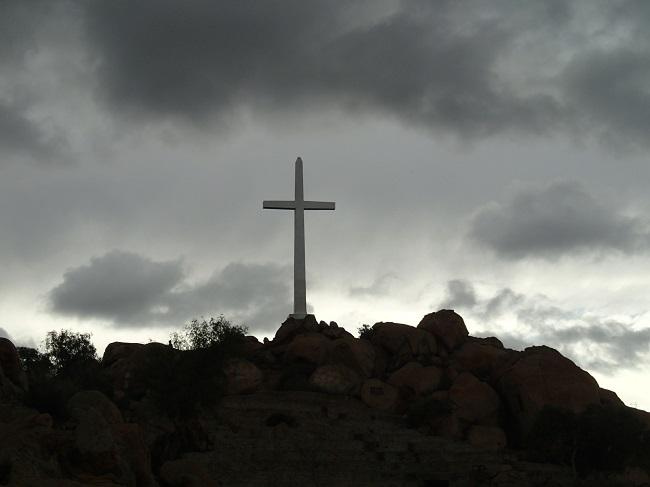 Junipero Serra Cross at Mt. Rubidoux