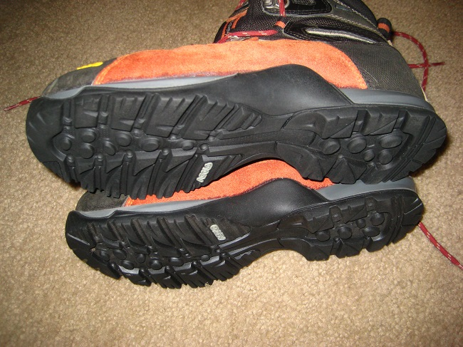 Asolo boots with new Vibram soles