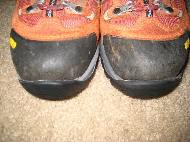My hiking boots, resoled!