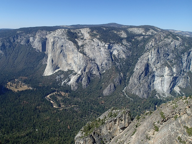 View of El Capitan from Taft Point