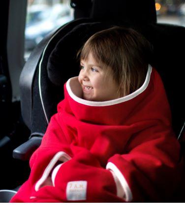 7 AM Easy Cover Fleece, red