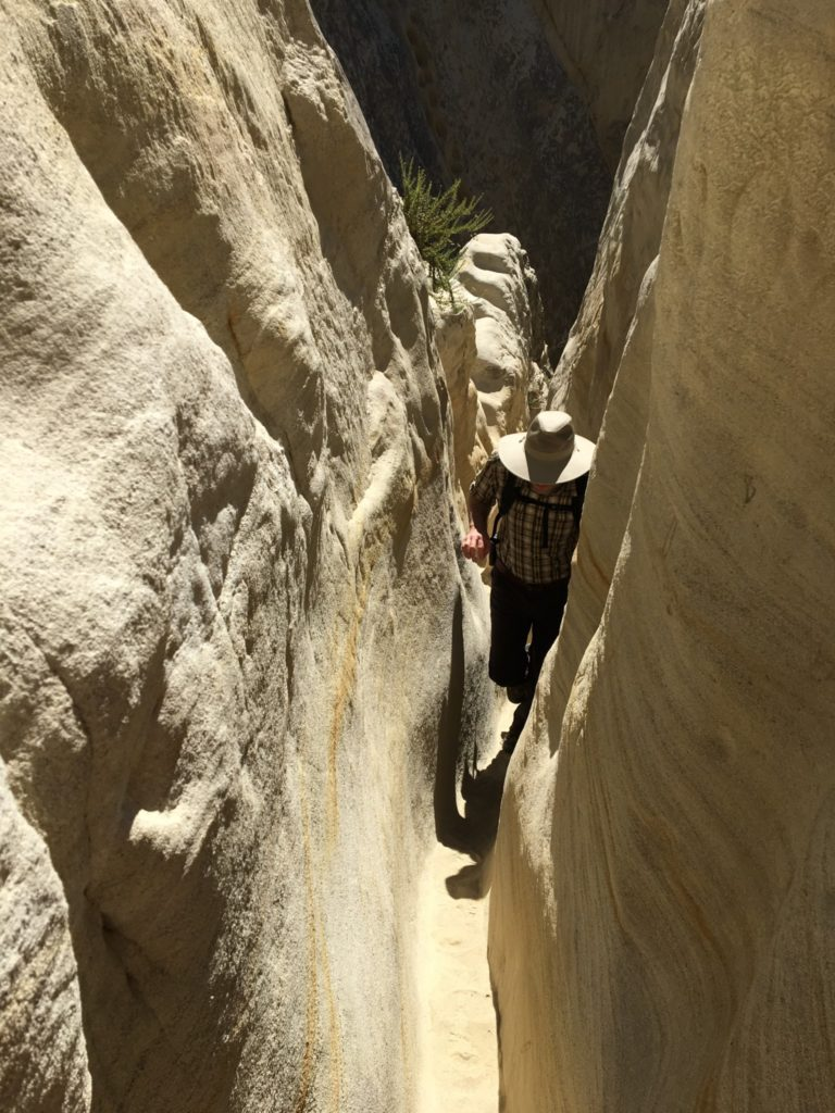 A Southern California Slot Canyon Adventure Hiking Lady