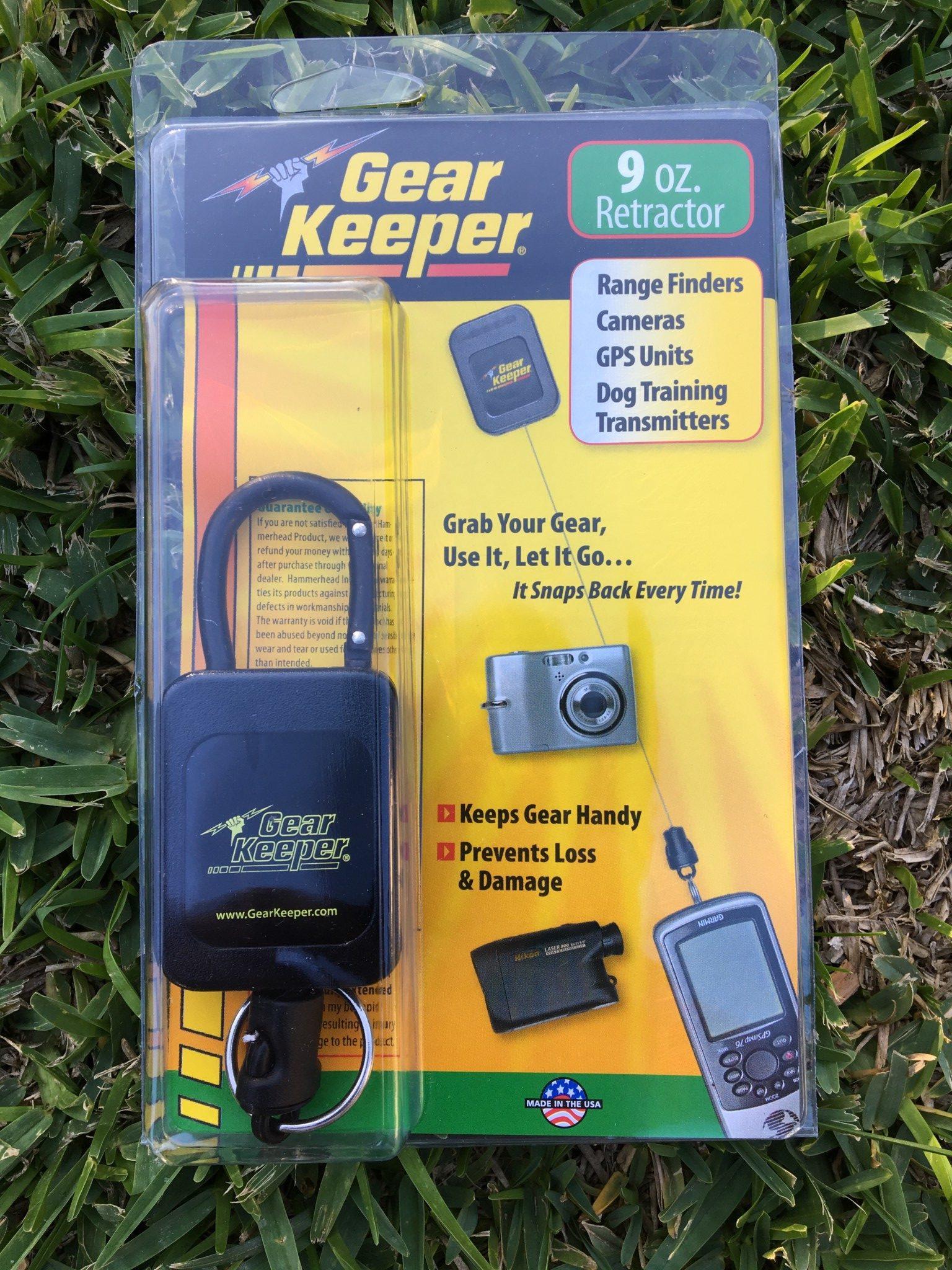 Gear Keeper Retractor