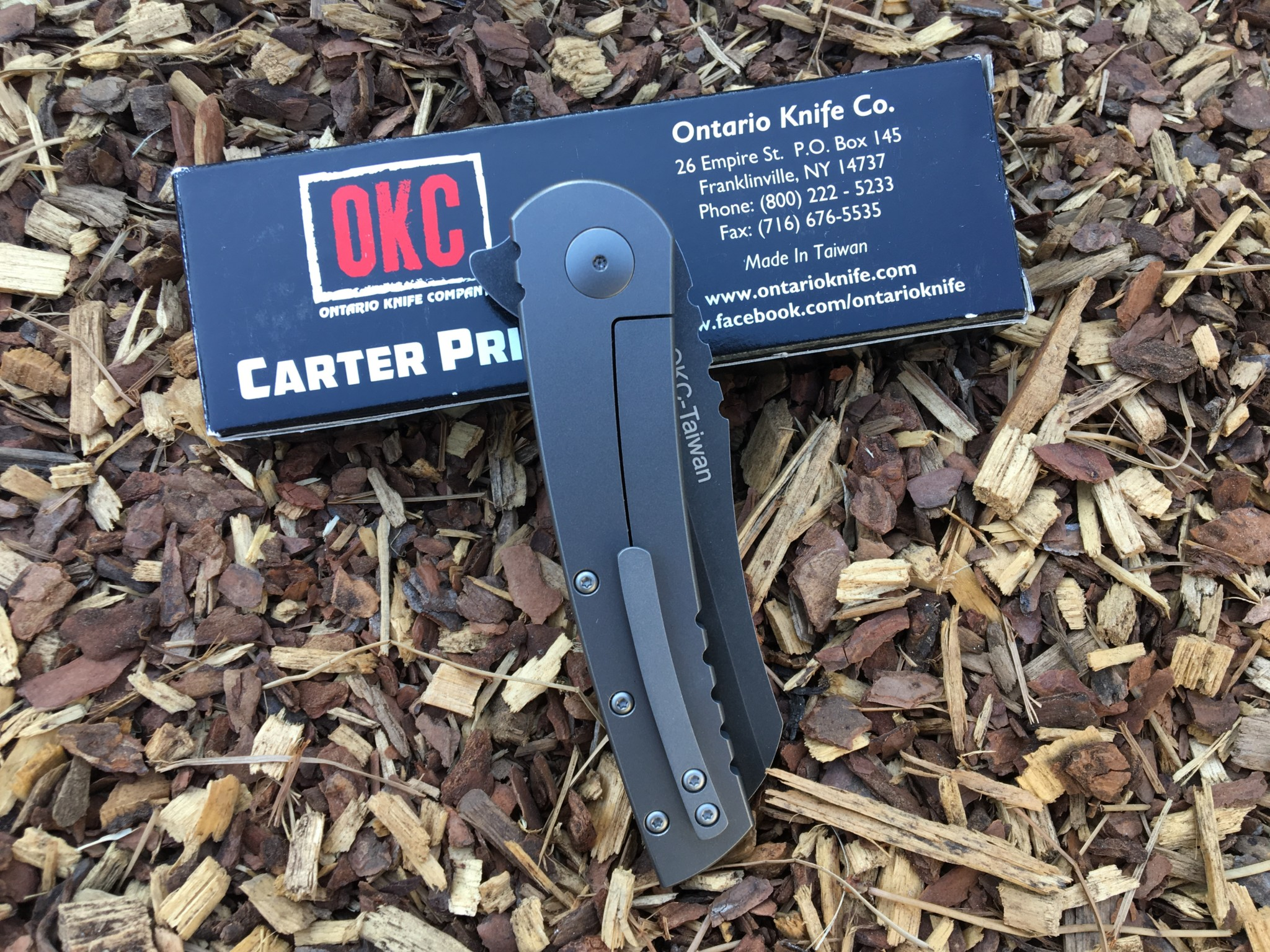 OKC's Carter Prime Knife could be yours...