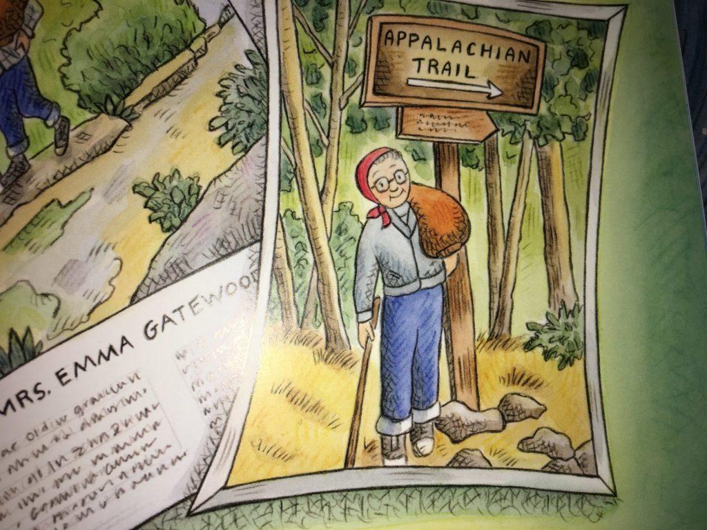 Grandma Gatewood Hikes the Appalachian Trail by Jennifer Thermes